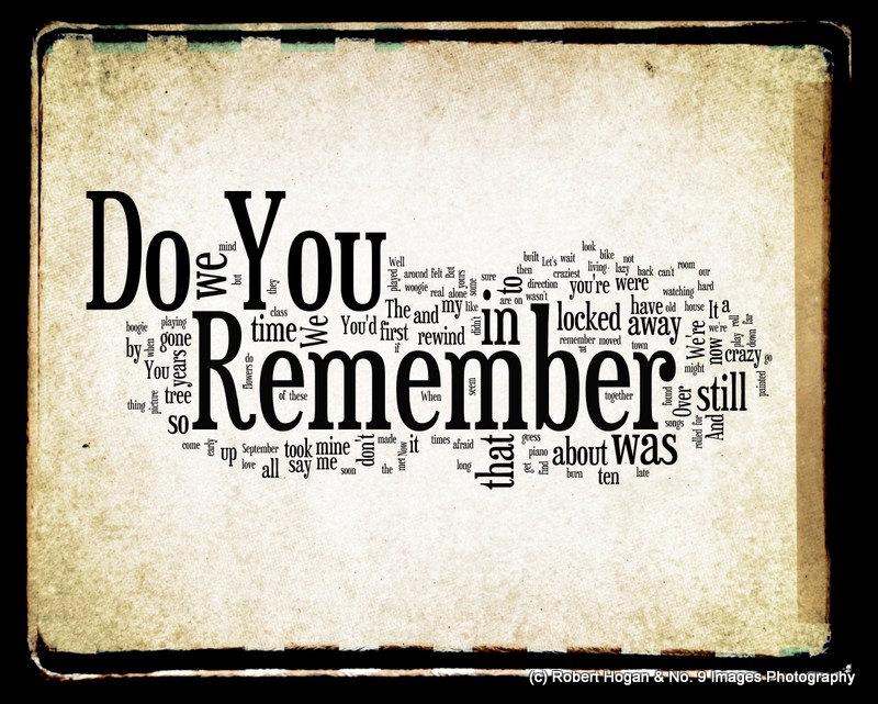 Помниш ли когато бяхме аз и ти ?